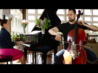 Saint-Saëns- The Swan (Cello and Piano) - Brooklyn Duo