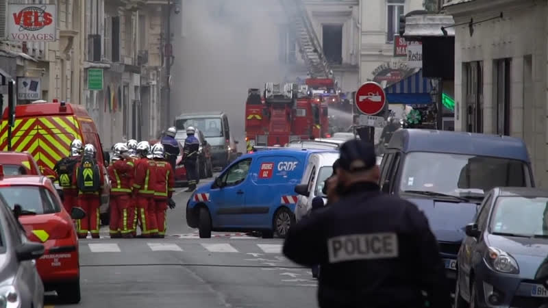 Взрыв в парижской булочной унес жизни двух человек 12 января Вечер СОБЫТИЯ ДНЯ ФАН ТВ