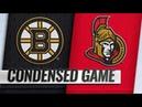 Boston Bruins vs Ottawa Senators | Dec.09, 2018 | Game Highlights | NHL 2018/19 | Обзор матча