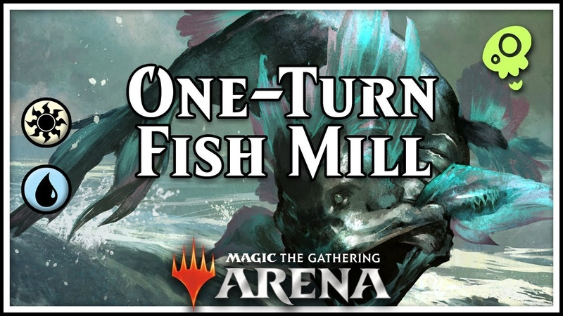 [Magic Arena] One-Turn Fish Mill (feat. a broken Noxious)