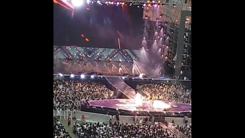 Lotte Family Concert accident