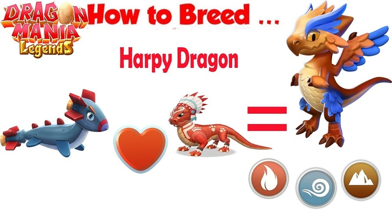 How to Breed Harpy Dragon Dragon Mania Legends part 1359 HD