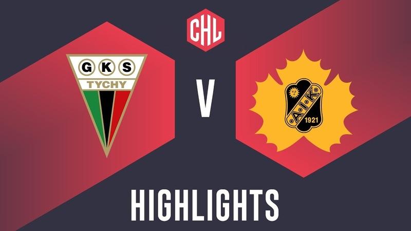 Highlights GKS Tychy vs Skellefteå AIK
