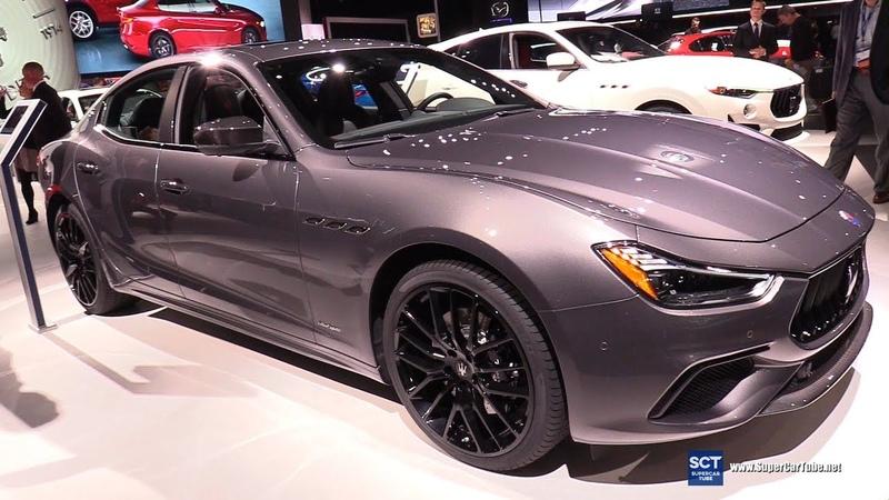 2019 Maserati Ghibli SQ4 - Exterior and Interior Walkaround - 2018 LA Auto Show