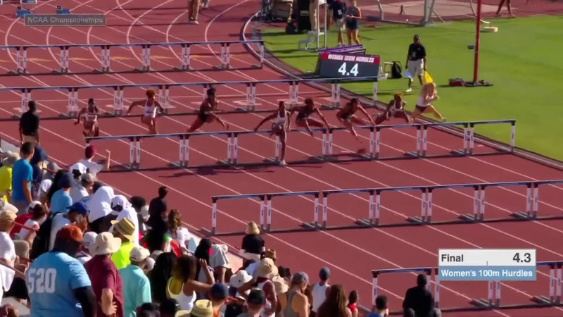 Women's 100m Hurdles - 2019 NCAA Outdoor Track and Field Championships