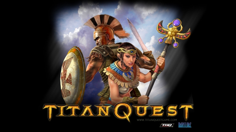 Titan Quest (стример - Тедан Даспар) ссылки на розыгрыш
