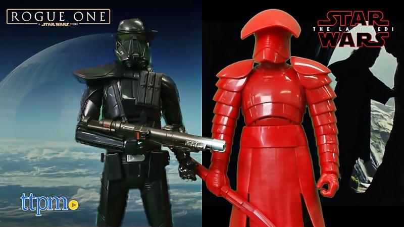 Star Wars The Last Jedi Electronic Duel Imperial Death Trooper Elite Praetorian Guard From Hasbro