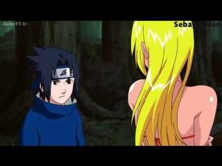 Naruto Le Hace El Jutsu Sexy a Sasuke