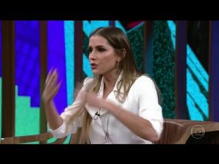 Conversa com Bial Deborah Secco conta como conquistou Hugo Moura[1]