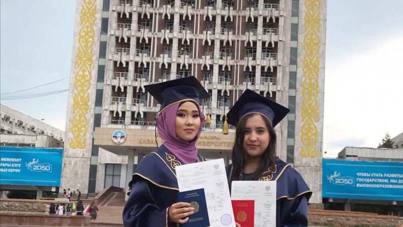 Graduation 👩🏻🎓 2018 KazNU