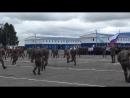 Выступление десантников  части 242УЦ г. Омск  на присяге 11 августа