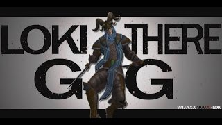 SMITE RAP Loki - Now can you see me, Now you don't