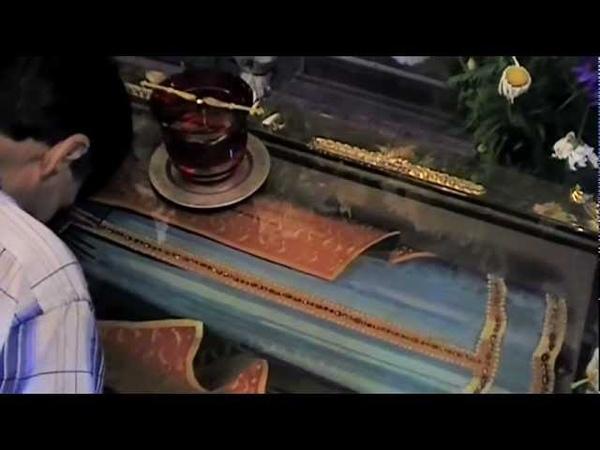 Мощи мученика Авраамия в Самаре