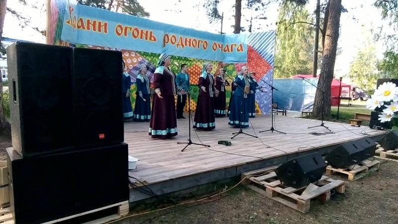 16 июня 2018 года город Вельск. Праздник День Деревни. Народный вокально-хоровой ансамбль