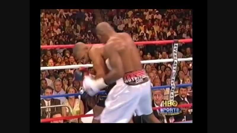 Roy Jones vs Glen Johnson KO Рой Джонс vs Глен Джонсон Нокаут