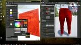 IDENTITY MMORPG ONLINE Создание цвета мужской одежды ч 2