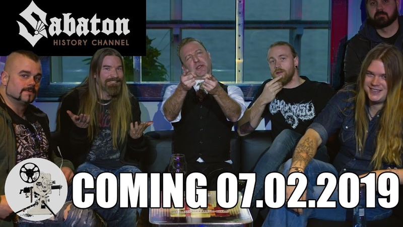 Sabaton History Channel launches 7 February 2019