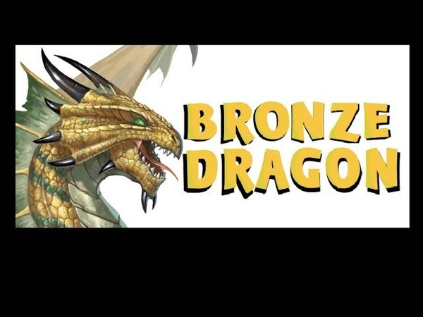 Dungeons and Dragons Lore Bronze Dragon