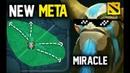 NEW META Miracle Nature's Prophet mid Non Stop Gank Imba Pro Gameplay 7 21 Dota 2