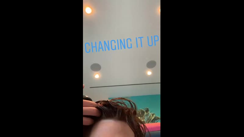 Adam Lambert IG story - Changing it Up
