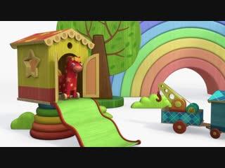 Деревяшки - Бал - Серия - 48 - развивающие мультики для малышей
