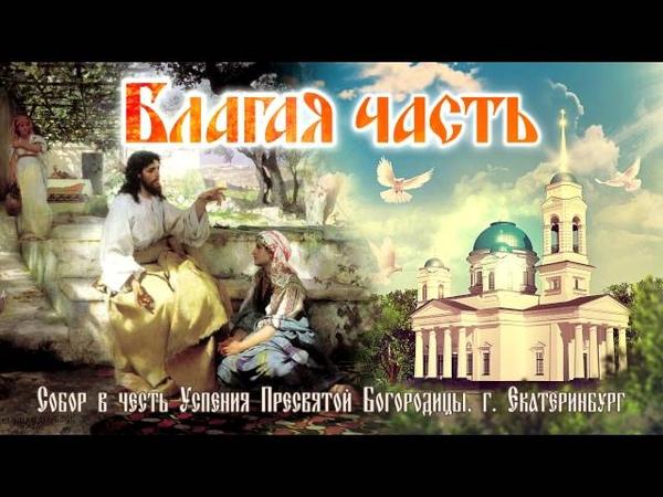 Болезни - ценный духовный труд. Благая часть (15.10.2016)