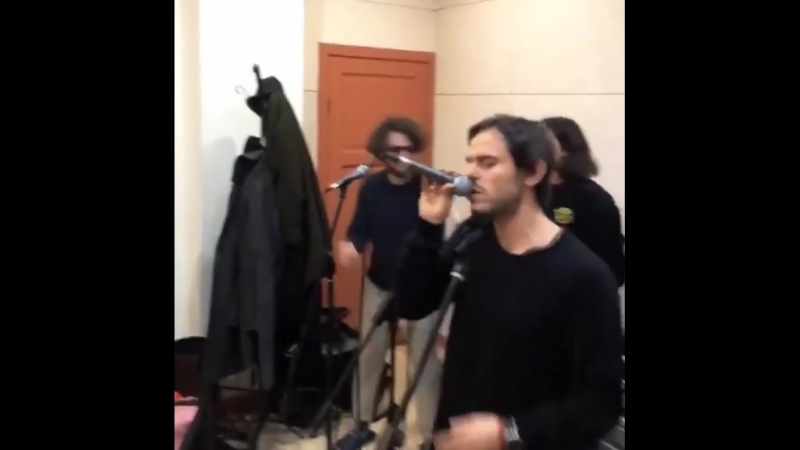 Репетиция Ёлки, Feduk, Андрея Запорожца (Sunsay, 5nizza) и Антохи МС на трибьют Михея.
