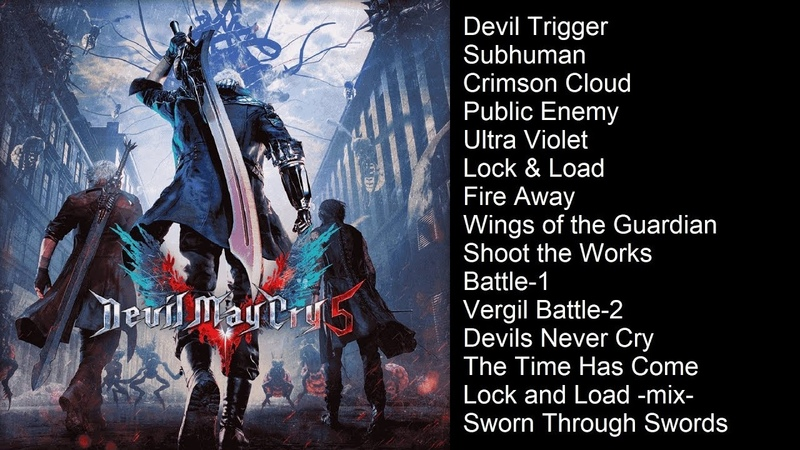Devil May Cry 5 (Deluxe Edition Soundtrack) | All Battle Themes