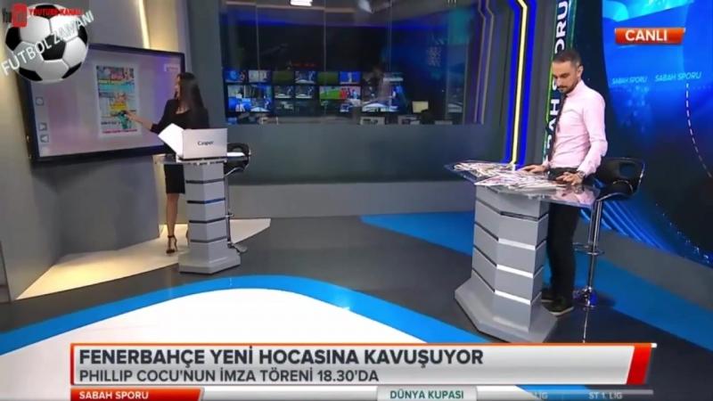 FENERBAHÇE Sabah Sporu - Cocu, Clement Grenier, Emenike, Bamba Yorumları 27 haziran 2018
