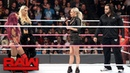 Rusev rudely confronts Sasha Banks: Raw, Oct. 10, 2016