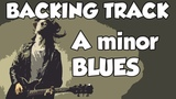 Blues in Am Chris Rea style Backing Track 1h Play Along