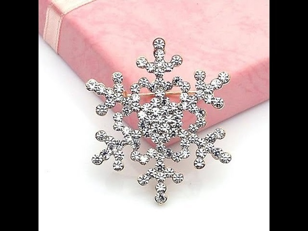 Brooch Pin Crystal Rhinestone