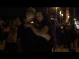 Танцы на Стрелке В.О. 14 августа 2018. Последняя песня