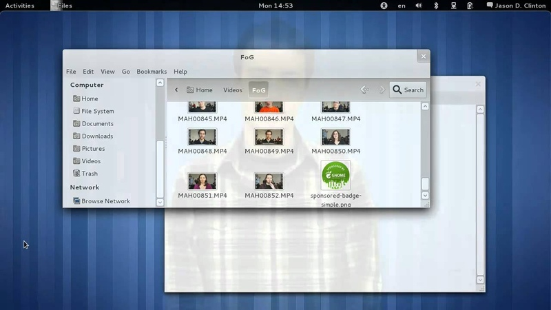 GNOME 3 App based Window Management