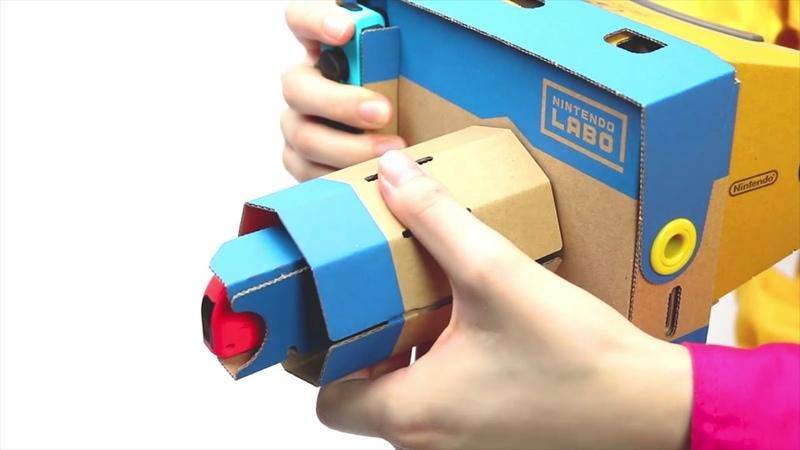 【Nintendo Labo】カメラ1