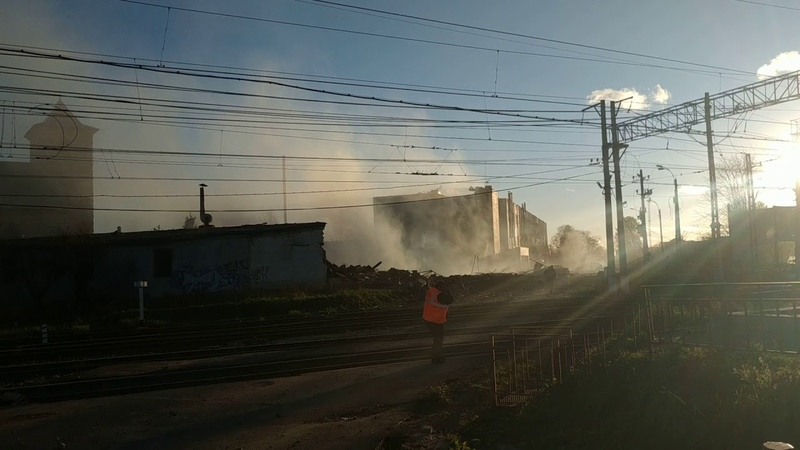 Взрыв завод авангард Гатчина