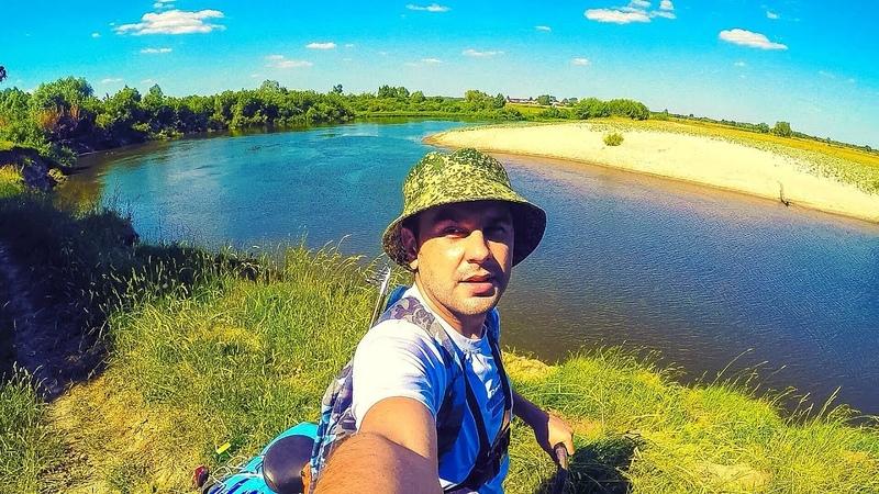 Рыбалка снастью РЕВЕРСИВНЫЙ КОРАБЛИК =SALASKA= на реке Мокша | Распаковка, Сборка, Тест