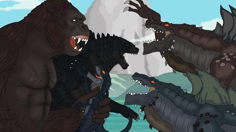 Кинг Конг против Годзиллы 5 - Зилла King Kong vs. Godzilla - Zilla