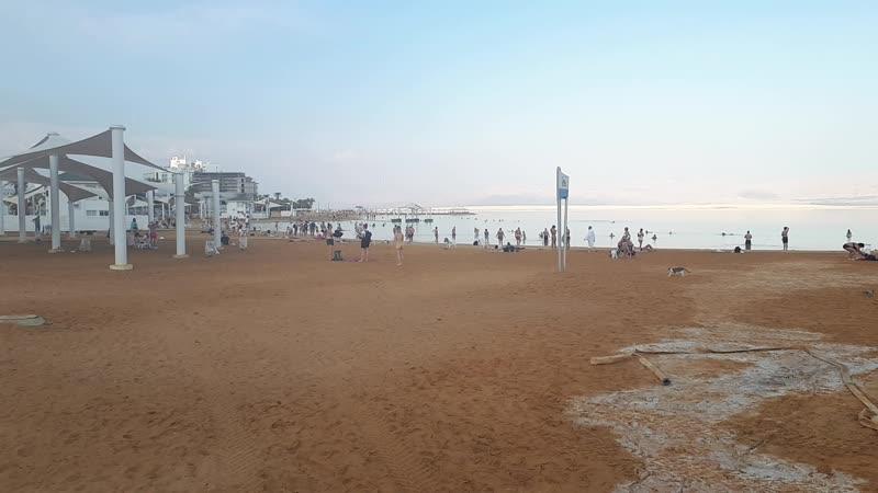 Ейн Бокек Мертвое море Израиль