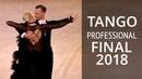 Tango Final   2018 Russion Championship - Professional Standart