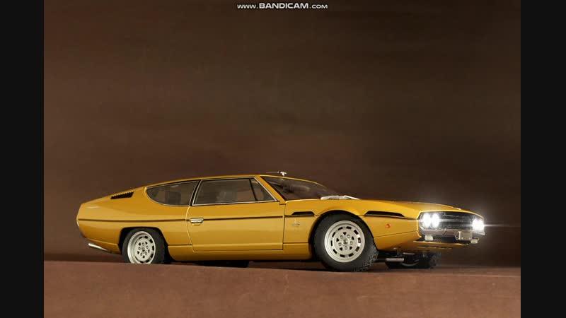Autoart 74504 Lamborghini Espada 1968 (Gold) 1-18