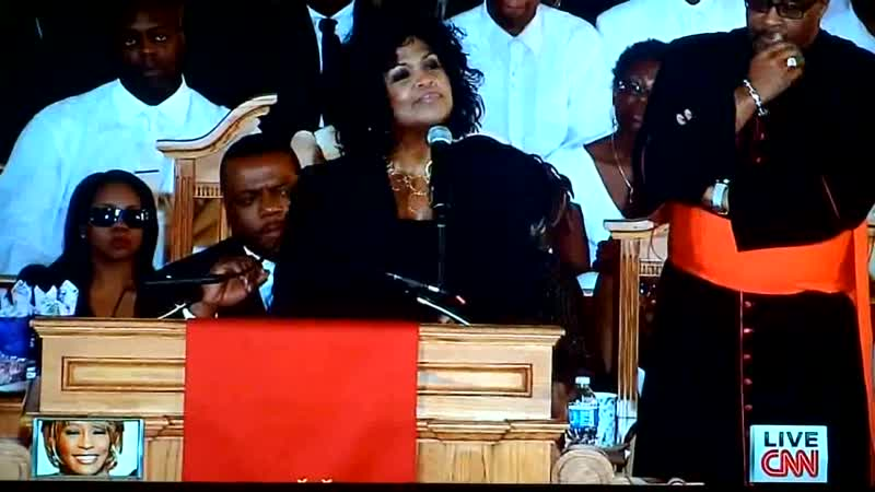 CeCe Winans Dont Cry For Me Whitney Houston's Funeral 2 18 2012