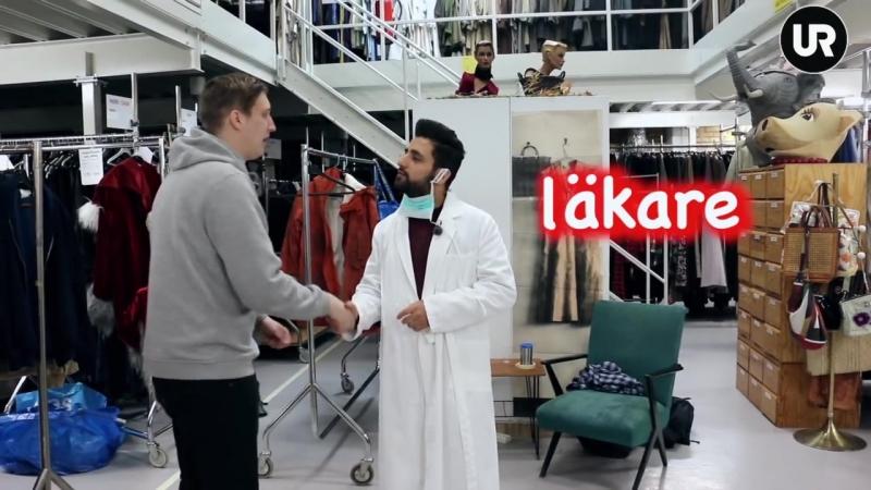 Svenska med Mahmoud Bitar_ yrken