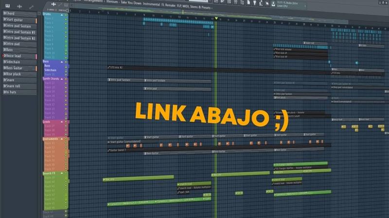 ILLENIUM - Take You Down [FULL FL Studio Remake FREE FLP]