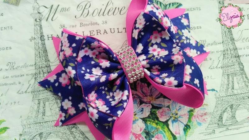 Amora Ribbon Bow 🎀 Tutorial 🎀 DIY by Elysia Handmade