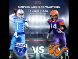 Highlights  St. Petersburgh Valkyries vs Tampere Saints Naiset 10.06.18(20-14)