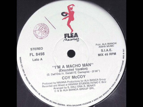 Coy McCoy - I' m A Macho Man (Extended Version)