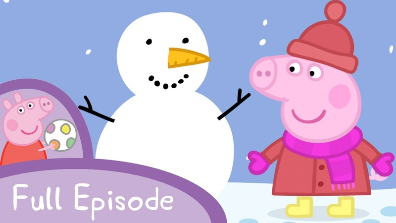 Peppa Pig - Snow (full episode)