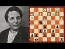 Chess Hero Lyudmila Rudenko Black vs Maria Iturralde Philidor's defence Google Doodle Day