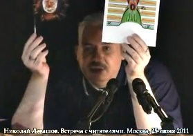 Николай Левашов о фотографии атома водорода